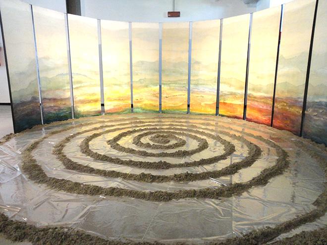 Shuhei Matsuyama - SHIN-ON 12 PANNELLI, Interazione energetica Cielo-Terra
