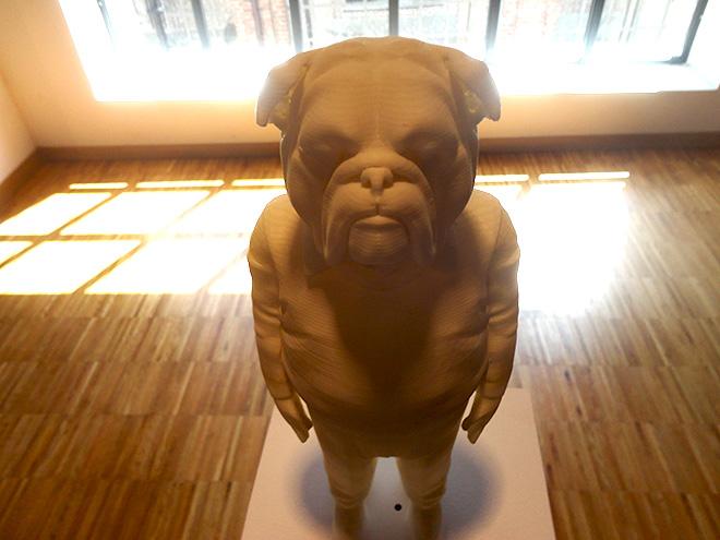 Lan Gao - L'abito non fa il monaco, 2014, scultura