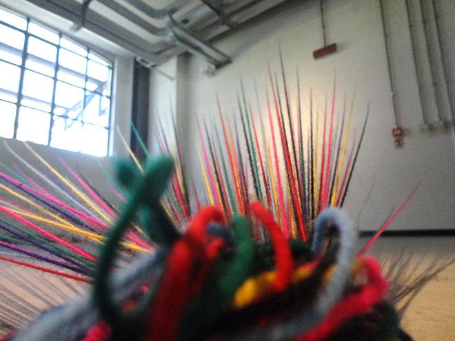 Emmanuele Panzarini - Melting Pot, 2015, installazione, misure variabili