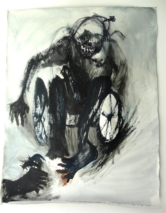 Liana Ghukasyan - Schettini, 2015 - olio su tela