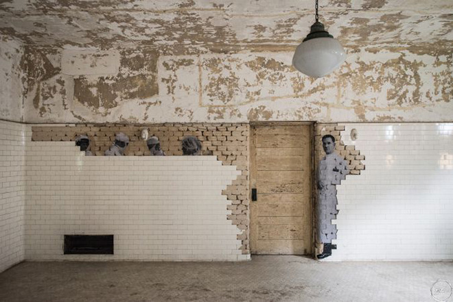 JR - Unframed, Ellis Island, 2014
