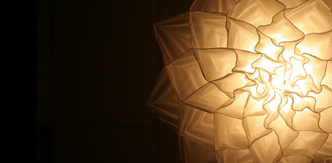 Shylights – Kinetic lights like flowers
