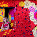 Olek – India yarn bombing