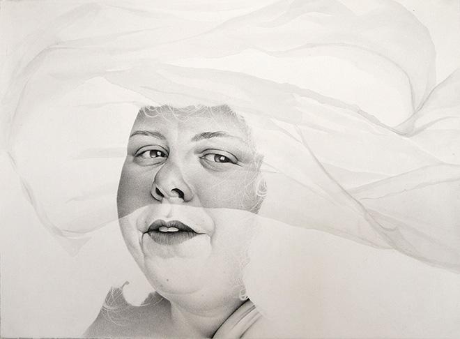 Samantha Wall - Indivisible, Nadia, 22x30