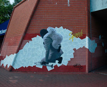 Bifido - Junkie - Street art