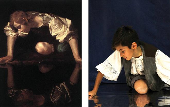 I quadri prendono vita - Edoardo Ciani interpreta