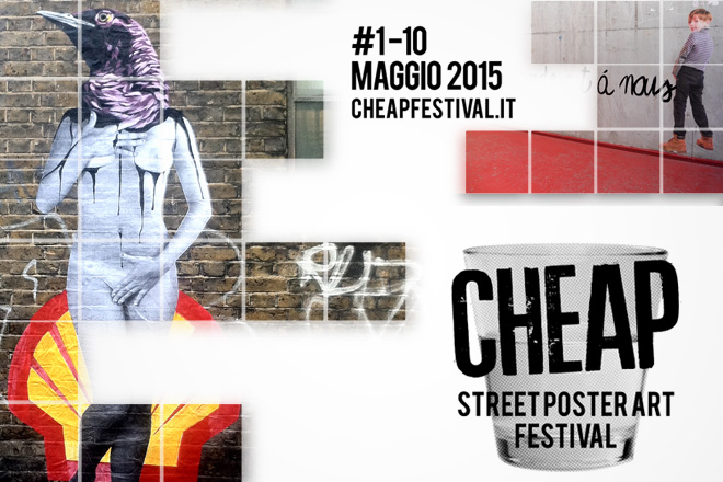 Cheap – Street Poster Art Festival