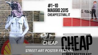 Cheap - Street poster art festival