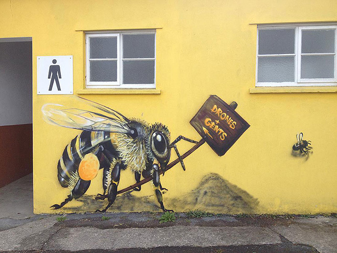 Louis Masai - Save the Bees project