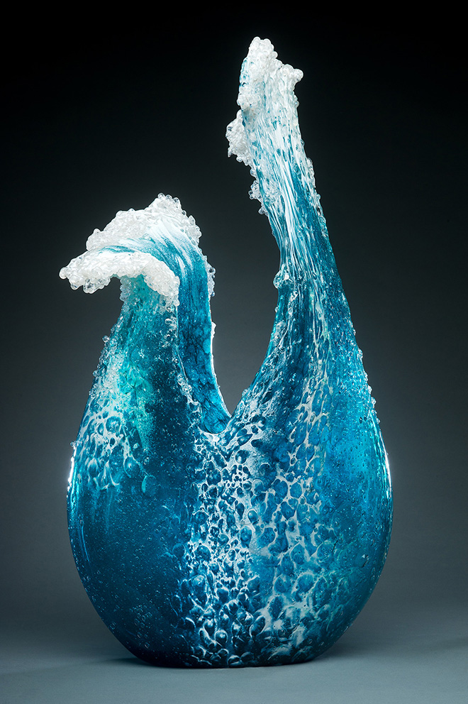 Paul DeSomma & Marsha Blaker – Glass waves