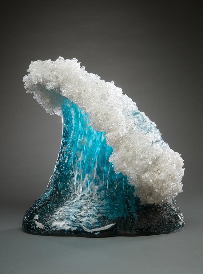 Paul DeSomma & Marsha Blaker - Glass waves