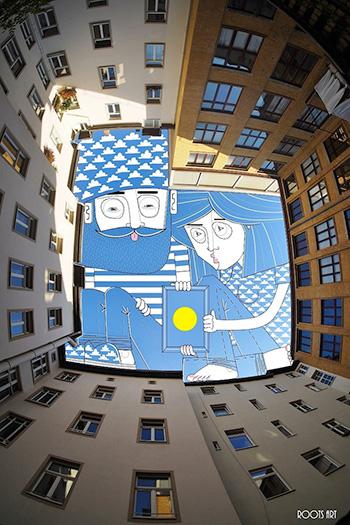 SkyArt Berlin, 2014, Thomas Lamadieu