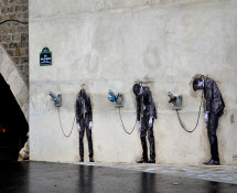 Levalet - Street art - Paris