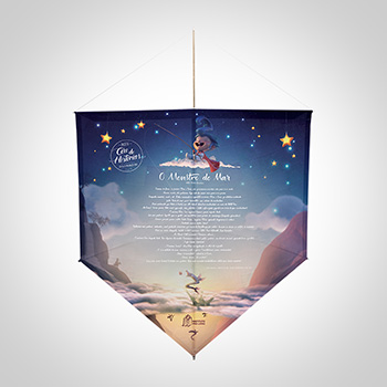 Projeto Céu de Histórias - Pipa Pedro Bandeira