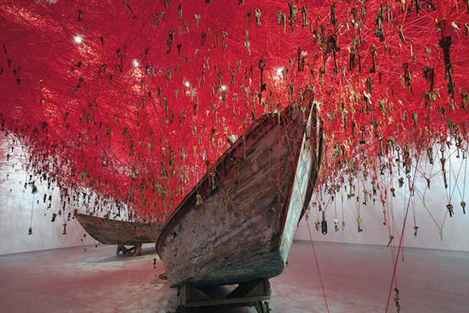 Chiharu Shiota – The Key in the Hand