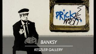 Banksy - Keszler Gallery