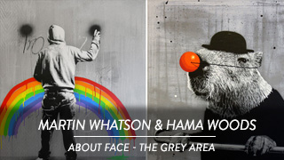Martin Whatson - About Face, Hama Woods - The Grey Area