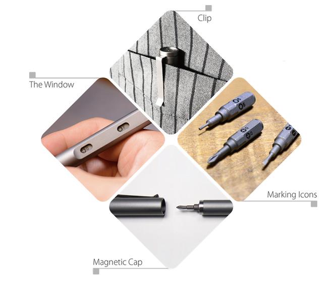 Tool pen mini - Precision bits - Mininch