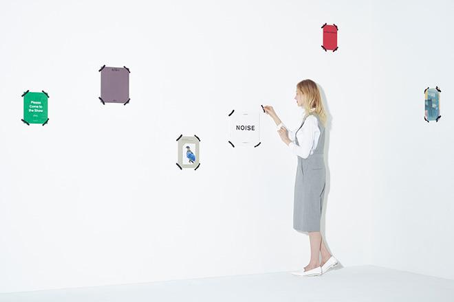 Tape Shelf by 3x design - Il libro diventa poster