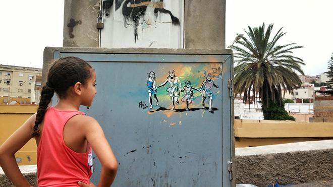 Alice Pasquini - Melilla, arte senza confini.