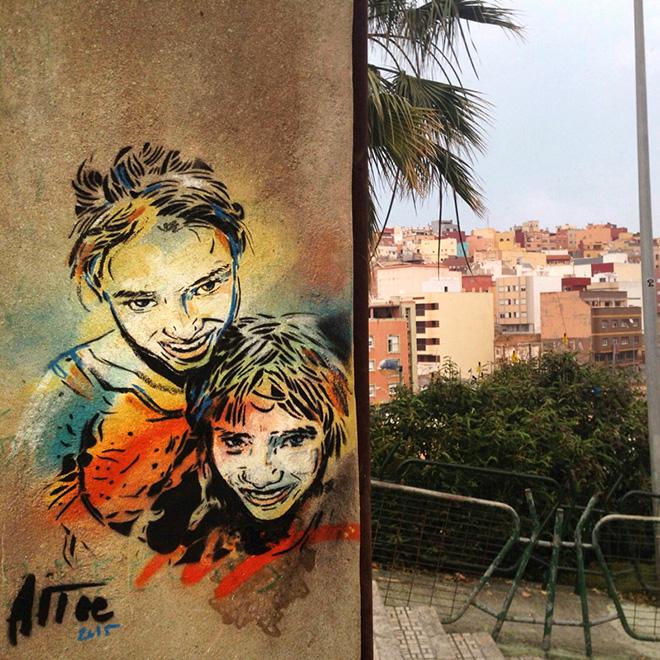 Alice Pasquini - Melilla, arte senza confini