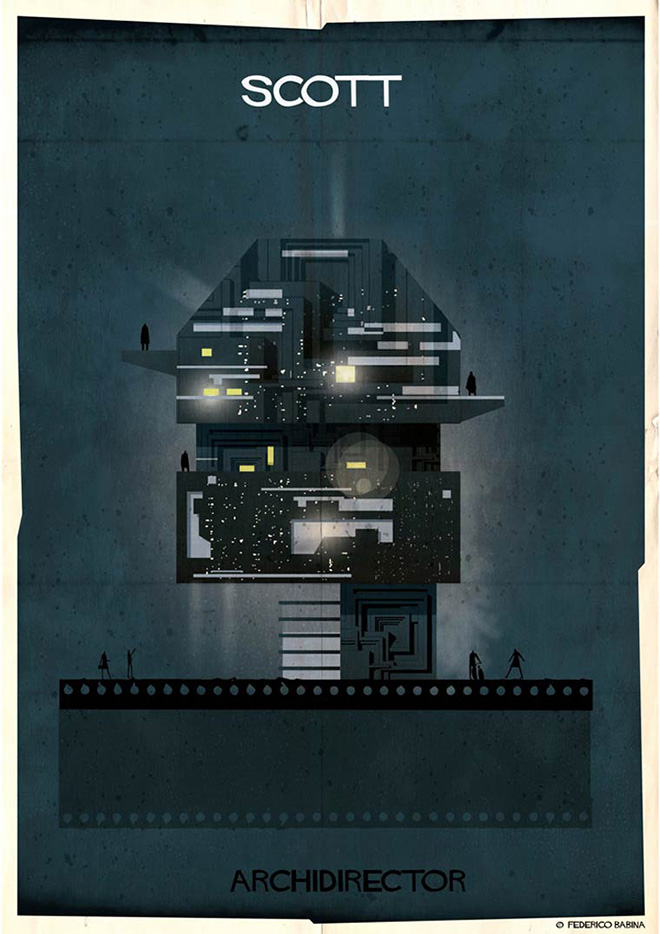 Federico Babina - Archidirector, Ridley Scott