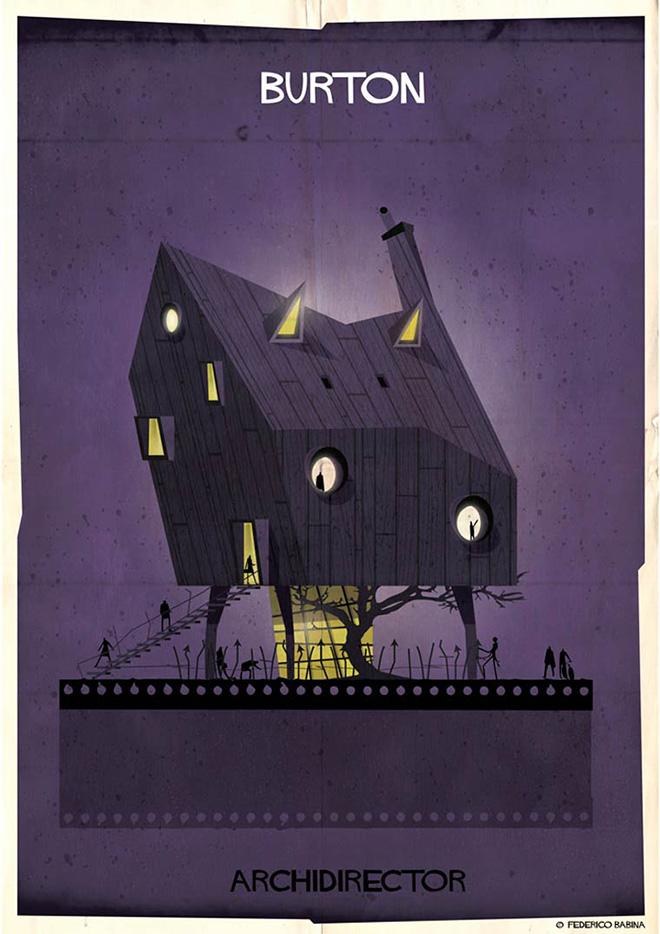 Federico Babina - Archidirector, Tim Burton