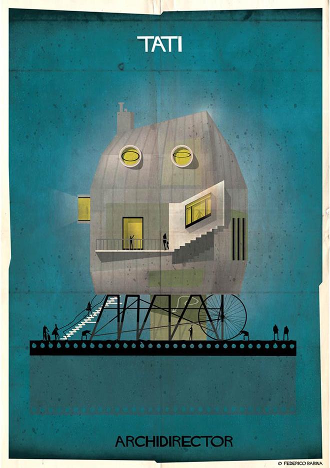 Federico Babina - Archidirector, Jacques Tati