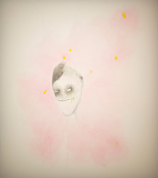 Enrico David - Untitled, 2013, acrilico su tela / acrylic on canvas - © Enrico DavidCourtesy Michael Werner Gallery, New York and London
