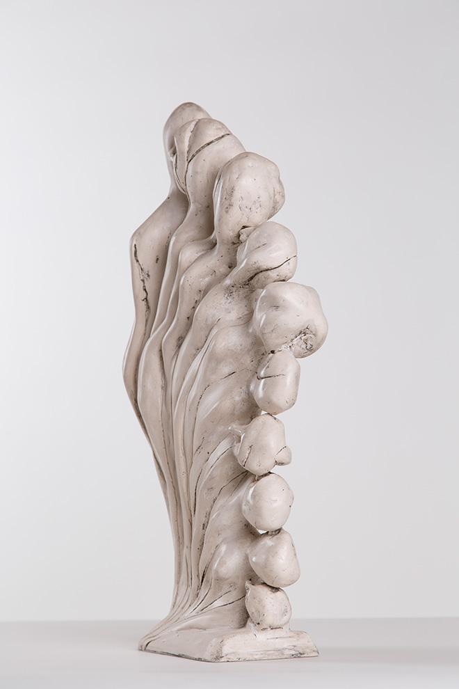Enrico David - The Assumption of the Weee, 2014, gesmonite, grafite, cera / jesmonite, graphite, wax - © Enrico DavidCourtesy Michael Werner Gallery, New York and London