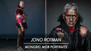 Jono Rotman - Mongrel Mob Portraits