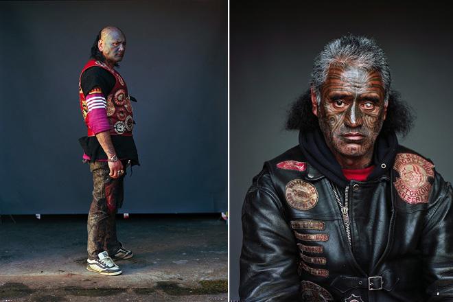 Jono Rotman – Mongrel Mob Portraits