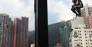 Pejac - The Re-Thinker, Hong Kong