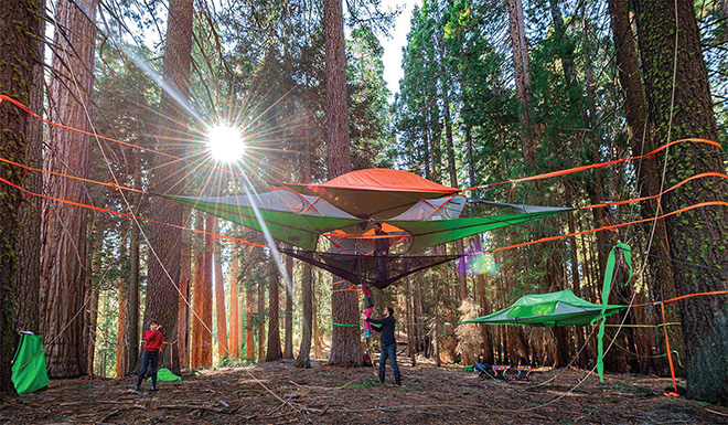 Tentsile - Nuovi modelli della tenda sospesa