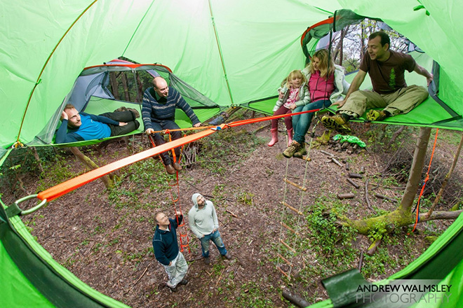 Tentsile - Trilogy (Sleeps 6 people)