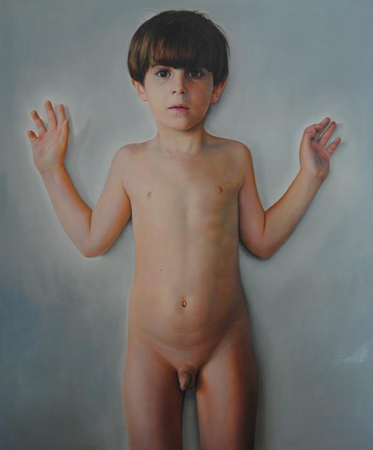 Mauro Maugliani - AGNUS DEI, 2012, oil o linen - cm 100 x 121