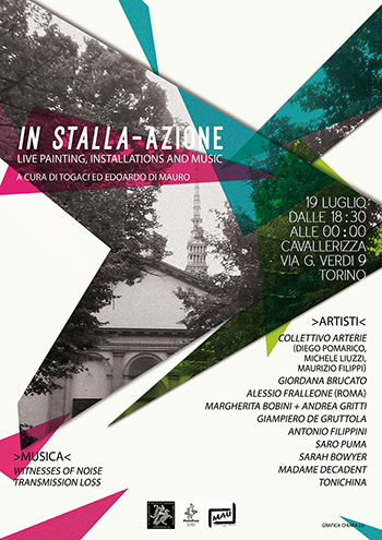 IN STALLA-AZIONE - Live painting, Installations and Music