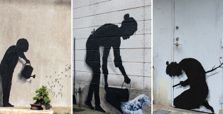Pejac - Japan Tour, street art
