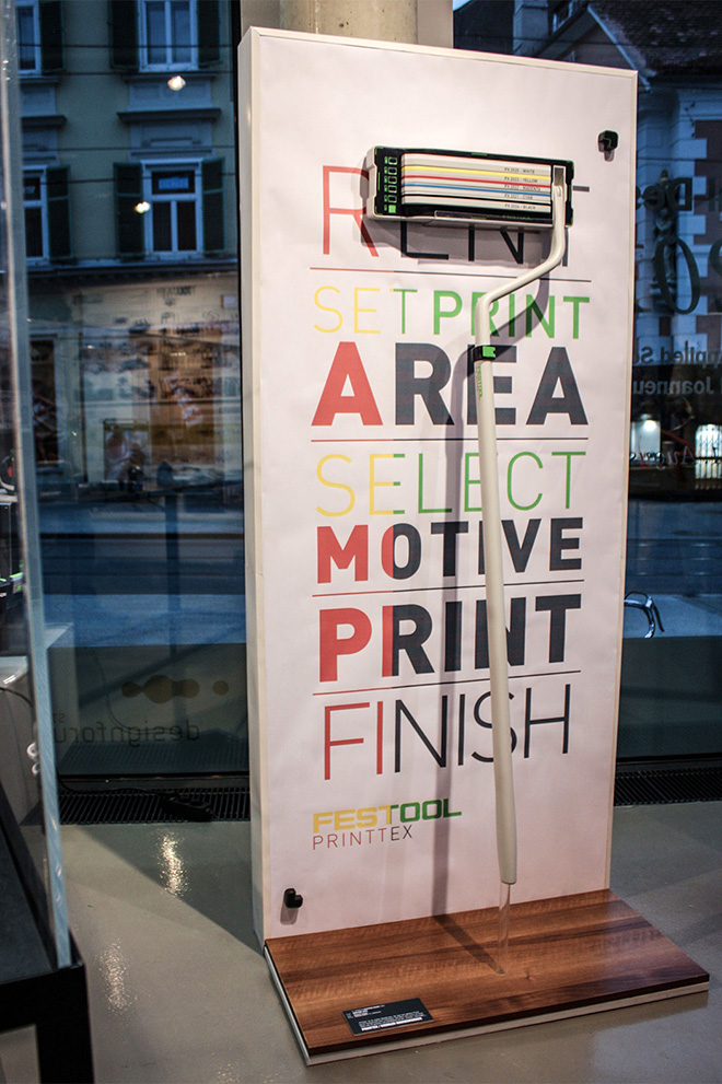 Printtex Mobile Wall Printer - Customize your wall!