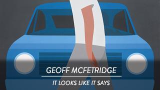 Geoff McFetridge - It Looks Like It Says