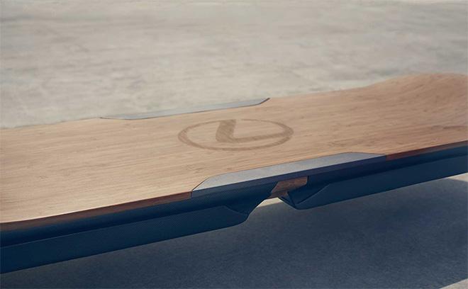 Lexus Hoverboard - Lo skateboard futuristico che vola