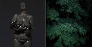 Mustafa Sabbagh, onore al nero_untitled, 2015 - dittico, stampa lambda su dibond, cm 100x85 cad. ed. di 5 + PA - © mustafa sabbagh
