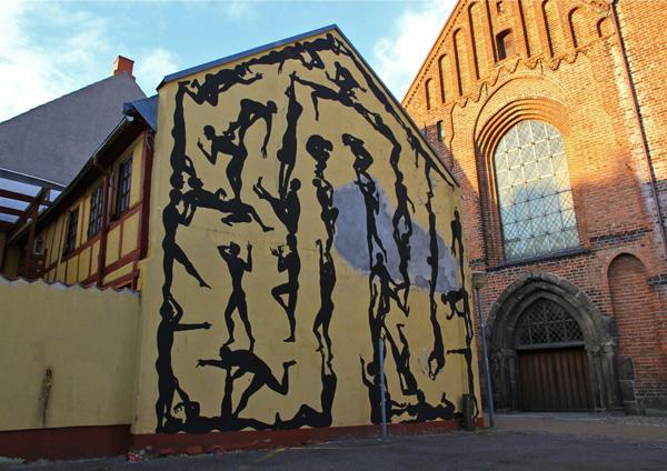 Sam3 - Street art, Horsens - Denmark