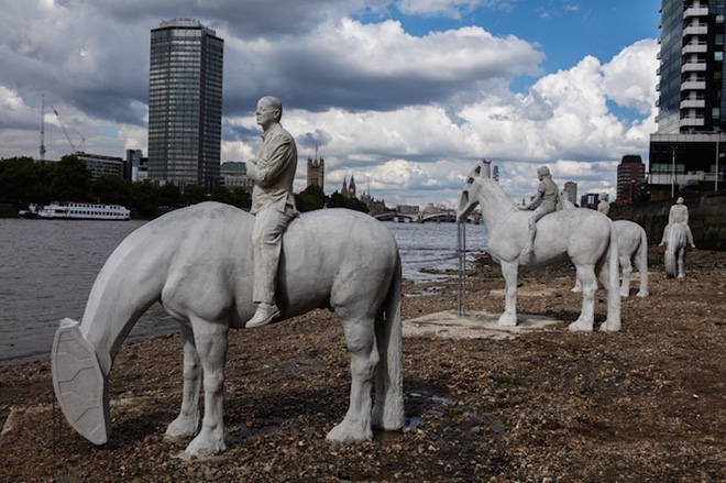 Jason deCaires Taylor – The Rising Tide