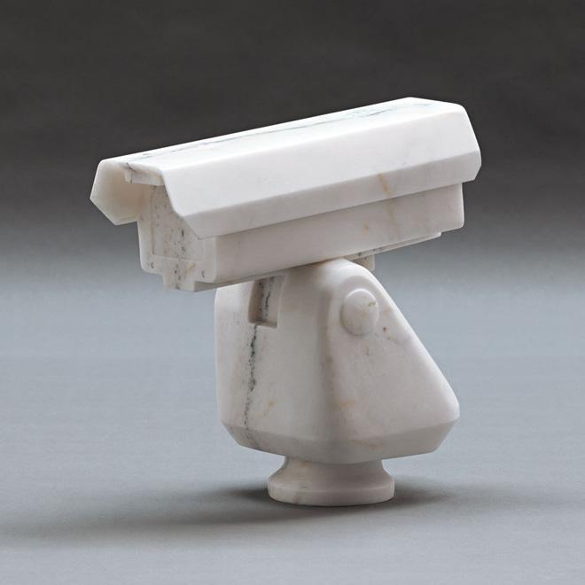 Ai Weiwei, Surveillance Camera, 2010. Marble. 39.2 x 39.8 x 19 cm. Courtesy of Ai Weiwei Studio. Image courtesy Ai Weiwei Studio. © Ai Weiwei.