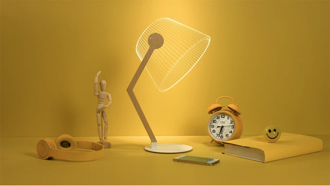 Studio Cheha – Bulbing 2D/3D lamp