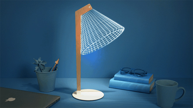 Studio Cheha - Bulbing 2D/3D lamp