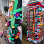Grace Brett – Yarn Bombing