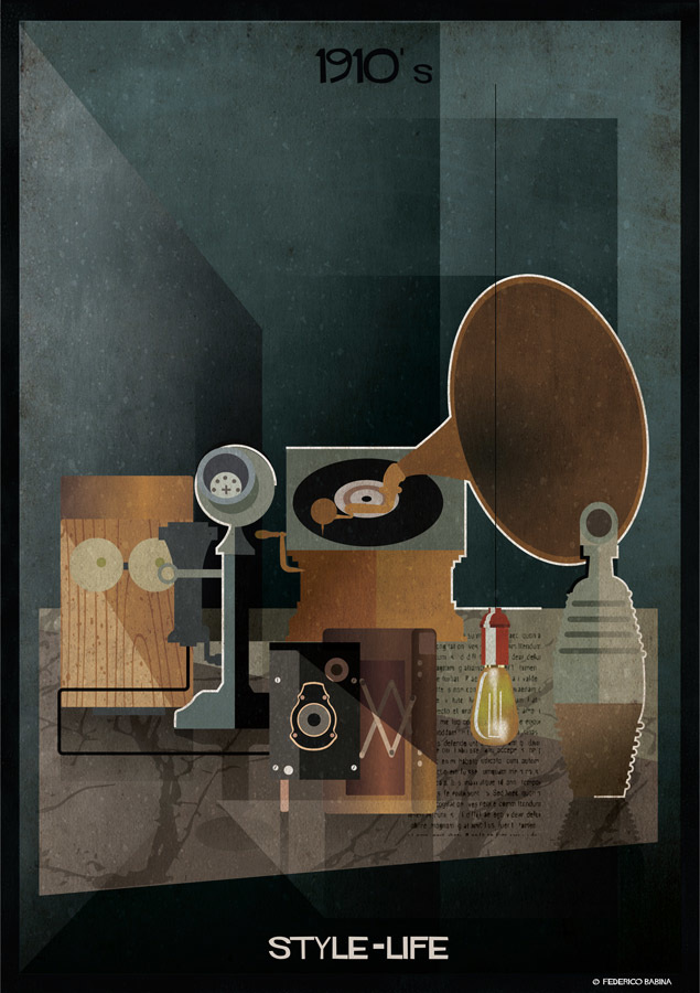 Federico Babina - 1910's, STYLE-LIFE