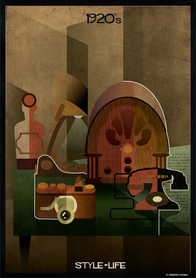 Federico Babina - 1920's, STYLE-LIFE
